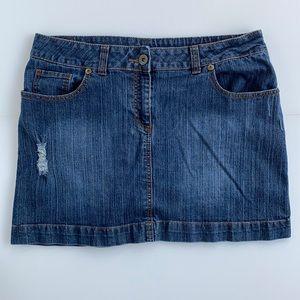 💥 BOGO 💥 Penningtons Denim Skirt Skort